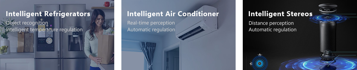 Intelligent Refrigerators, Intelligent Air Conditioner, Intelligent Stereos